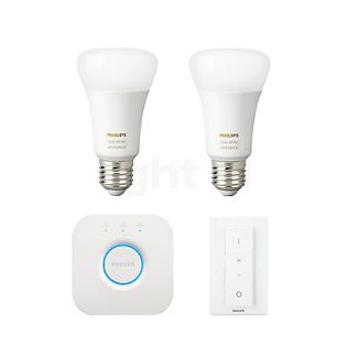 Philips Hue White Ambiance E27 2er Starter-Set white , discontinued product