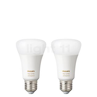 Philips Hue White Ambiance E27 Twin Pack white