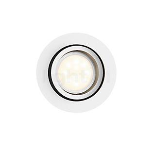 Philips Hue White Ambiance Milliskin Lampada da incasso a soffitto Estensione rotondo bianco