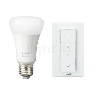 Philips Hue White E27 Wireless Dimming Kit kleurloos