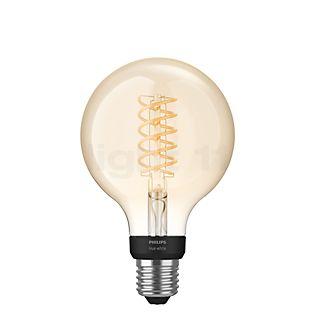 Philips Hue White E27 confezione singola Filament Globe incolore