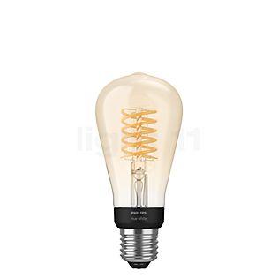 Philips Hue White E27 confezione singola Filament ST64 incolore