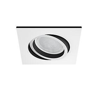 Philips Hue White and Color Ambiance Centura Spot encastré carré LED blanc