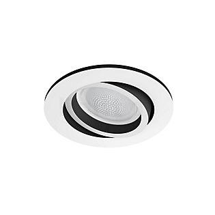 Philips Hue White and Color Ambiance Centura, foco empotrable redonda LED blanco
