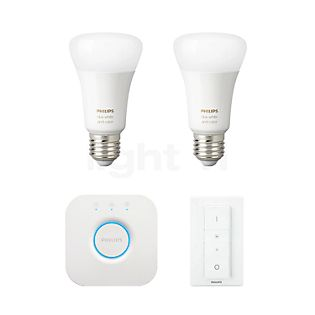 Philips Hue White and Color Ambiance E27 2er Starter Set RGB+W