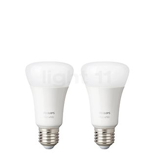 Philips Hue White pack doble, E27 sin color