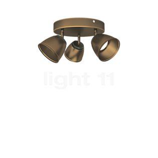 Philips Myliving County Plafondlamp LED 3-lichts bruin , uitloopartikelen