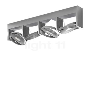 Philips Particon Spot LED 4-flammig Aluminium