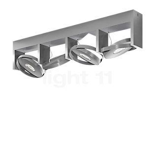 Philips Particon Spot LED 4 lamps aluminium