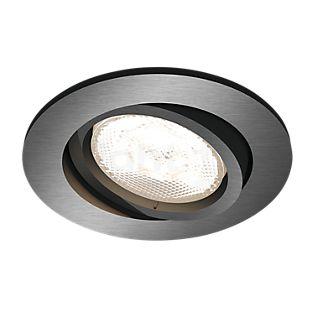 Philips myLiving LED Einbauspot Shellbark Rund anthrazit