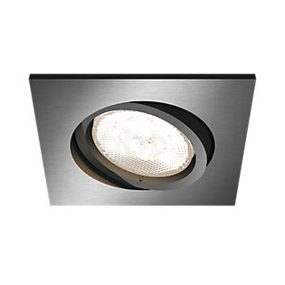 Philips myLiving LED Recessed Spotlight Shellbark, square anthracite