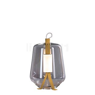 Prandina Luisa T1 Lampe de table LED laiton/cristal