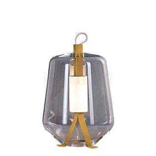 Prandina Luisa, lámpara de sobremesa T3 LED blanco/rosa