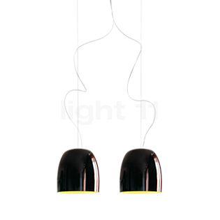 Prandina Notte S33 verre noir/doré
