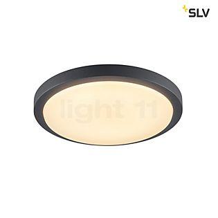 SLV Ainos Wand- und Deckenleuchte LED anthrazit