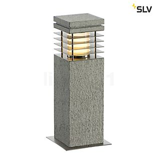 SLV Arrock Granite Bollard light, angular 40 cm