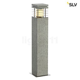 SLV Arrock Granite Borne lumineuse, carrée 40 cm