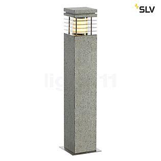 SLV Arrock Granite Pollerleuchte, eckig 40 cm