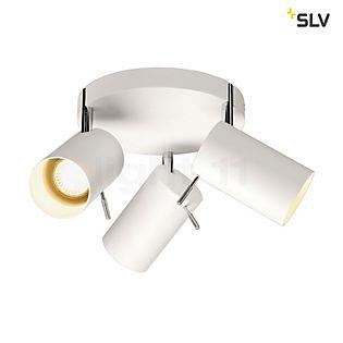 SLV Asto Tube III Round Applique/Plafonnier blanc