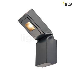 SLV Bendo, lámpara de pared LED antracita
