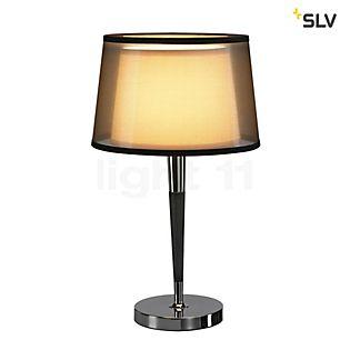 SLV Bishade Lampada da tavolo nero/trasparente
