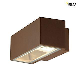 SLV Box Wandlamp roest , uitloopartikelen