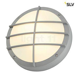 SLV Bulan Grid Applique blanc
