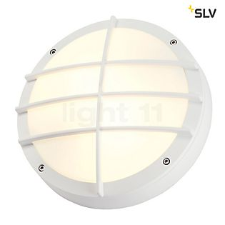 SLV Bulan Grid Applique blanc