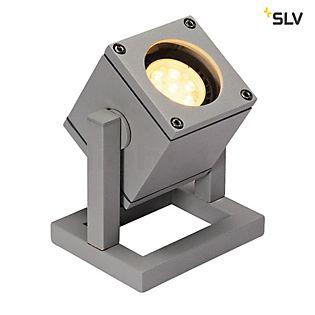 SLV Cubix I Bodemlamp zilvergrijs