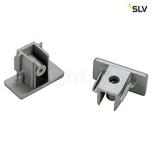 SLV Endkappen für 1-Phasen Hv-Stromschiene silbergrau , Auslaufartikel