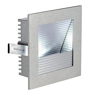 SLV Frame Curve LED silbergrau