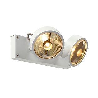 SLV Kalu 2 QPAR111 Plafond-/Wandlamp wit