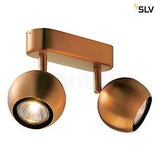 SLV Light Eye 2 lofts-/væglampe sort/krom
