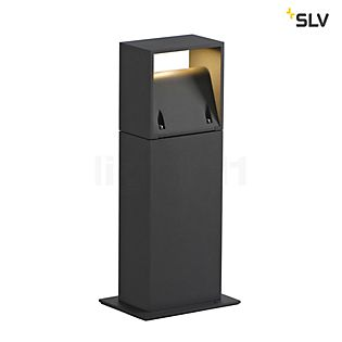 SLV Logs 40 Bolderarmatuur LED antraciet