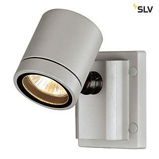 SLV New Myra plafond-/wandlamp zilvergrijs