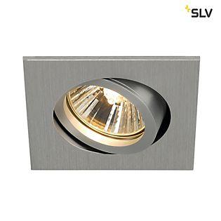 SLV New Tria 68 GU10 Square downlight Aluminium gebürstet , Auslaufartikel