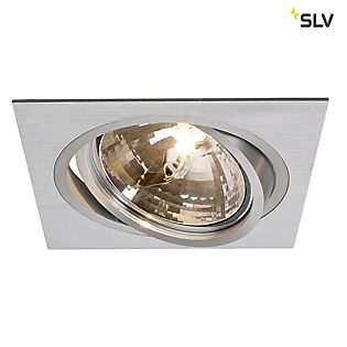 SLV New Tria, QRB Downlight Eckig 1-flammig , Auslaufartikel