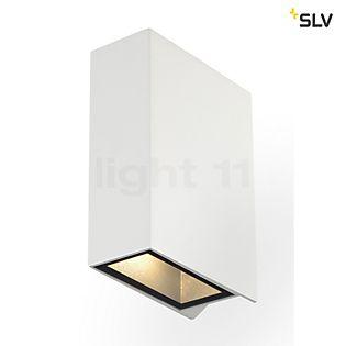 SLV Quad 2 Væglampe, kantet hvid