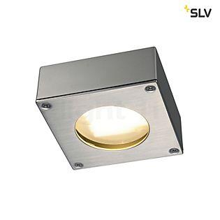 SLV Quadra 44 Downlight Plafond-/Wandlamp zilvergrijs