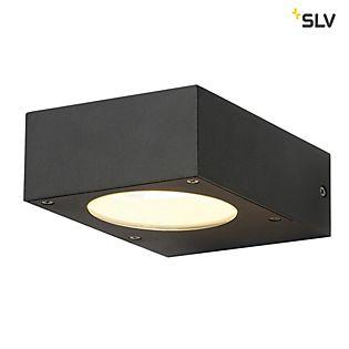 SLV Quadrasyl, lámpara de pared gris antracita
