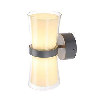 SLV Reto Wandleuchte LED grau/weiß , Auslaufartikel