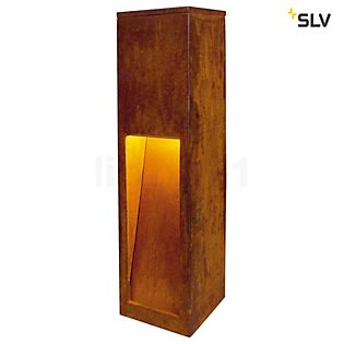 SLV Rusty Slot Bollard light 50 cm