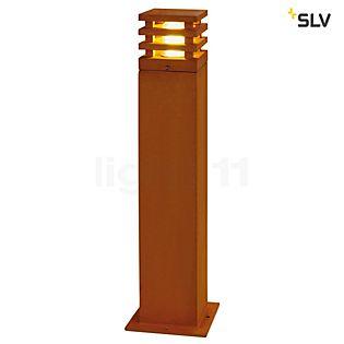 SLV Rusty Square Borne lumineuse 40 cm