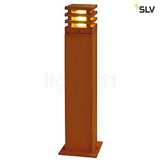 SLV Rusty Square Pollerleuchte LED 40 cm