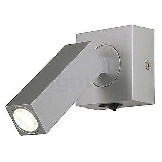 SLV Stix 3W LED Wandlamp met scharnier zilvergrijs