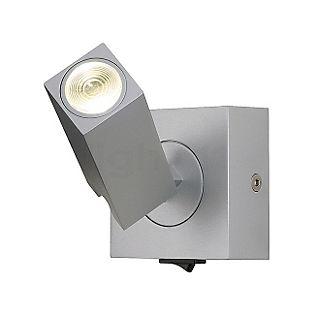 SLV Stix 3W LED Wandleuchte Mit Gelenk silbergrau