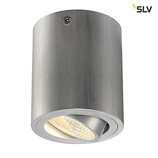 SLV Triledo Roy CL, downlight de superficie aluminio cepillado