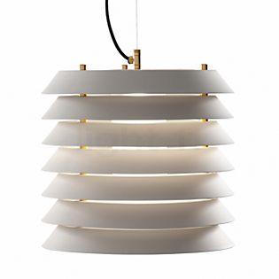 Santa & Cole Maija 30, lámpara de suspensión LED blanco
