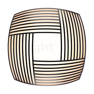 Secto Design Kuulto 9100 Wand-/Plafondlamp LED zwart, gelamineerd