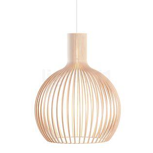 Secto Design Octo 4240 Hanglamp zwart, gelamineerd/textielkabel zwart